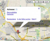 Google Street View in Karlsruhe