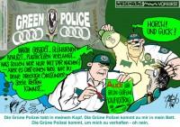Ökoterrorismus durch grüne Polizei – Wehret den Anfängen!